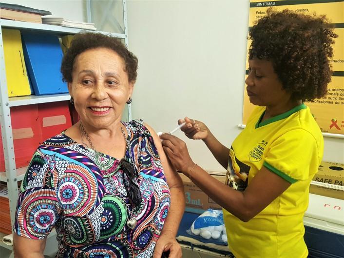 Vacinação para idosos será oferecida no Centro Social dos Servidores de segunda (27) a quarta-feira (29)