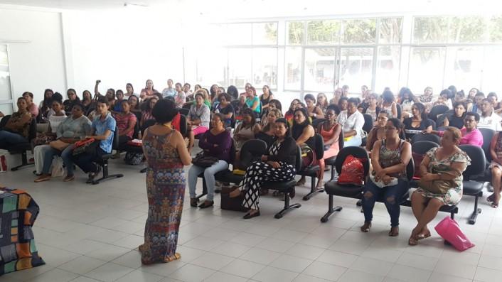 Aulas foram realizadas no auditório do Centro social dos Servidores