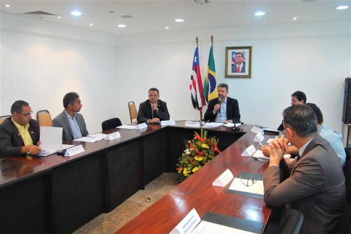 Reunião do Confepa foi realizada na sala de reuniões da vice-governadoria