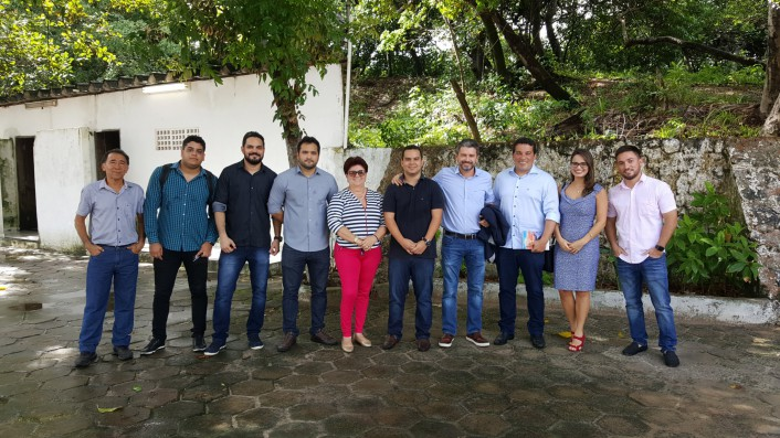 Equipes do Iprev e da Sectur constatam melhorias no Centro Social dos Servidores