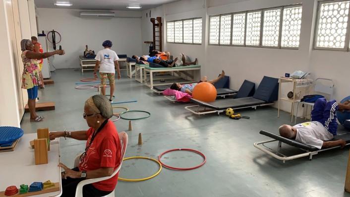 Após a reforma, Centro Social dos Servidores ganhou sala de reabilitação