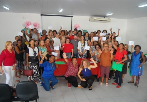 Curso foi realizado no auditório do Centro Social dos Servidores