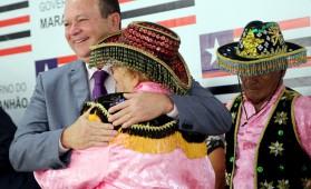 O governador Flávio Dino foi representado na solenidade pelo vice-governador do Estado, Carlos Brandão