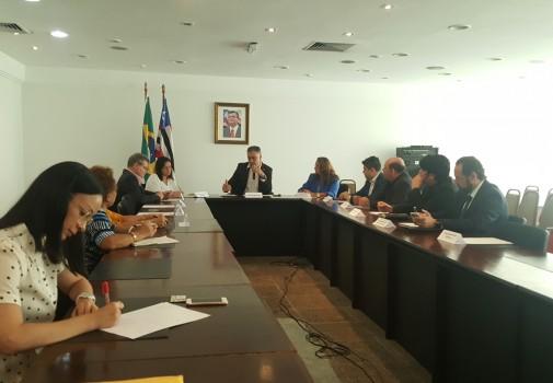 Reunião ordinária do Confepa foi realizada no Palácio Henrique de La Roque