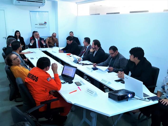 Reunião foi realizada no Iprev