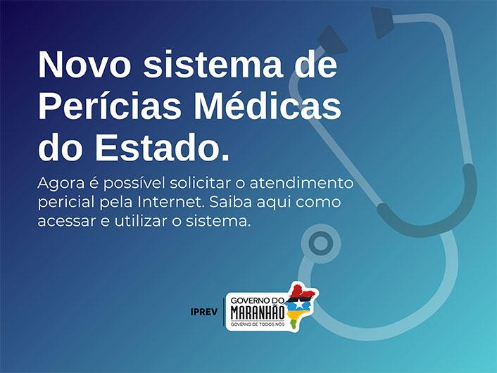 Novo Sistema de Perícias Médicas do Estado